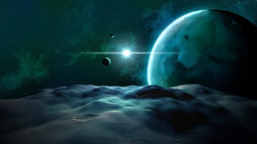Osvietený vesmír